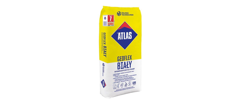 Atlas Wysokoelastyczny klej żelowy Geoflex biały