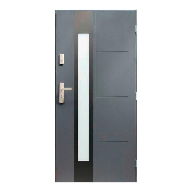 Pantor Drzwi Zewnetrzne Tyber Antracyt 90p Kupuj W Obi