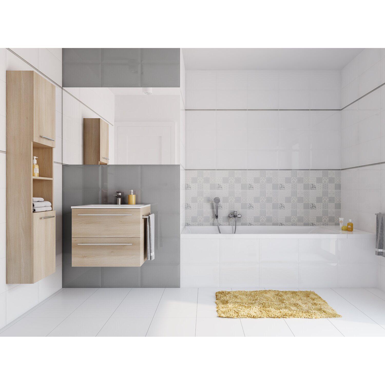 25 White Bathroom Ideas Design Pictures: Cersanit Glazura Ponto White 25 Cm X 40 Cm Połysk Kupuj W OBI