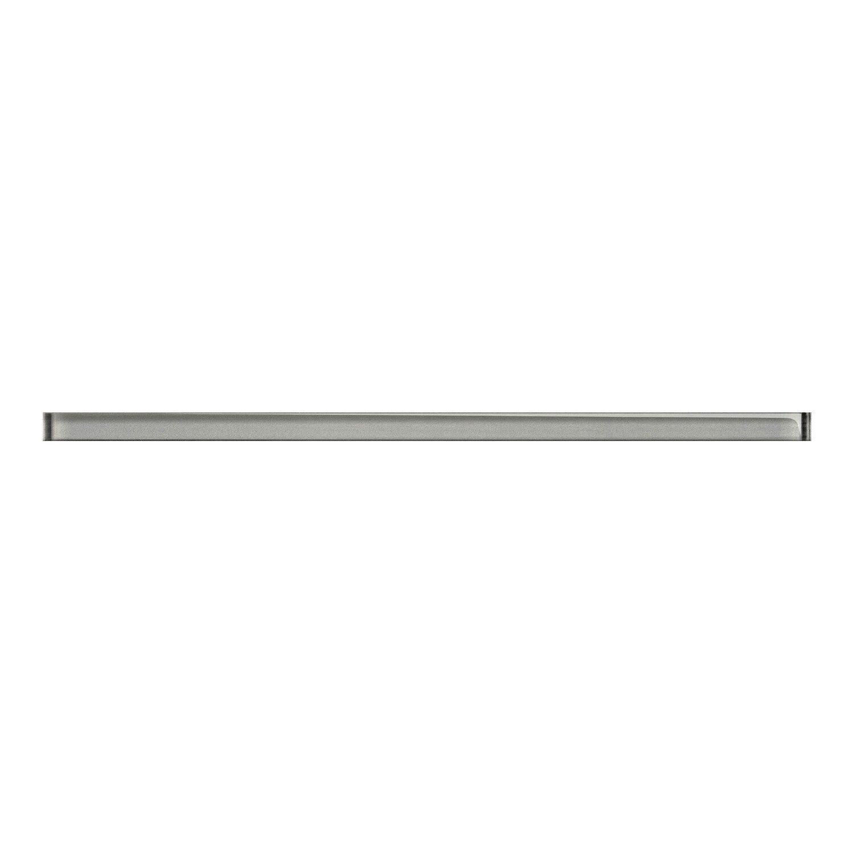 Cersanit Listwa Szklana Uniwersalna Silver 15 Cm X 40 Cm