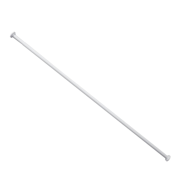 Adah Drążek Prysznicowy Rozprężny śr20 Mm Biały 70 Cm 120 Cm