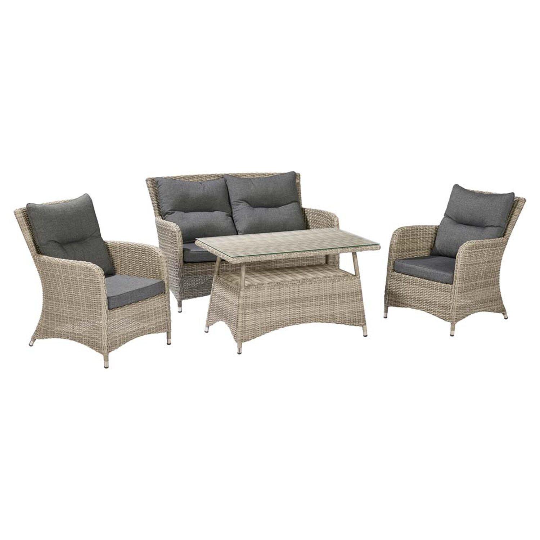 obi zestaw mebli ogrodowych springdale kupuj w obi. Black Bedroom Furniture Sets. Home Design Ideas