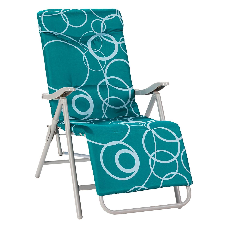 Cmi Fotel Składany 5 Pozycyjny Z Podnóżkiem