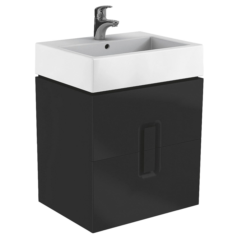 Dodatkowe Koło Szafka pod umywalkę Twins 60 czarna mat kupuj w OBI GJ03