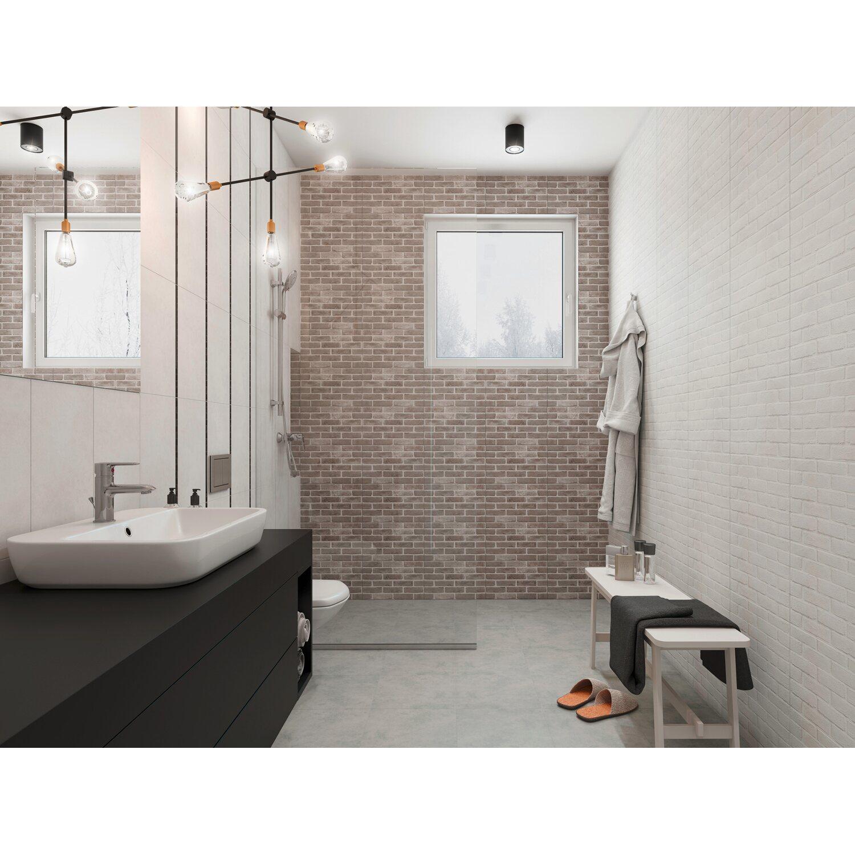 25 White Bathroom Ideas Design Pictures: Cersanit Glazura Evide White 25 Cm X 40 Cm Mat Kupuj W OBI