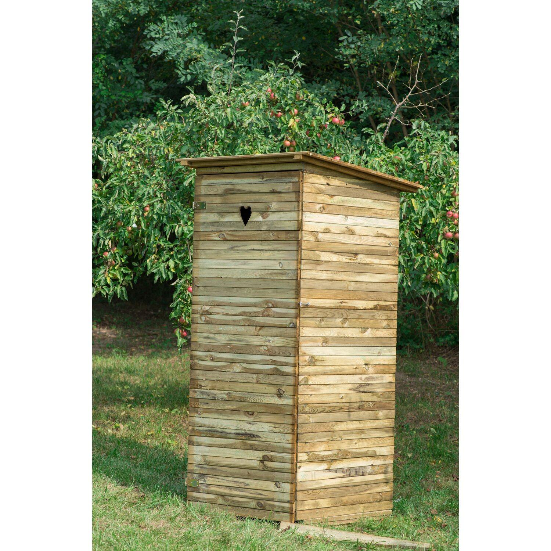 Nowoczesna architektura Wychodek drewniany 90x80x200cm kupuj w OBI AN69