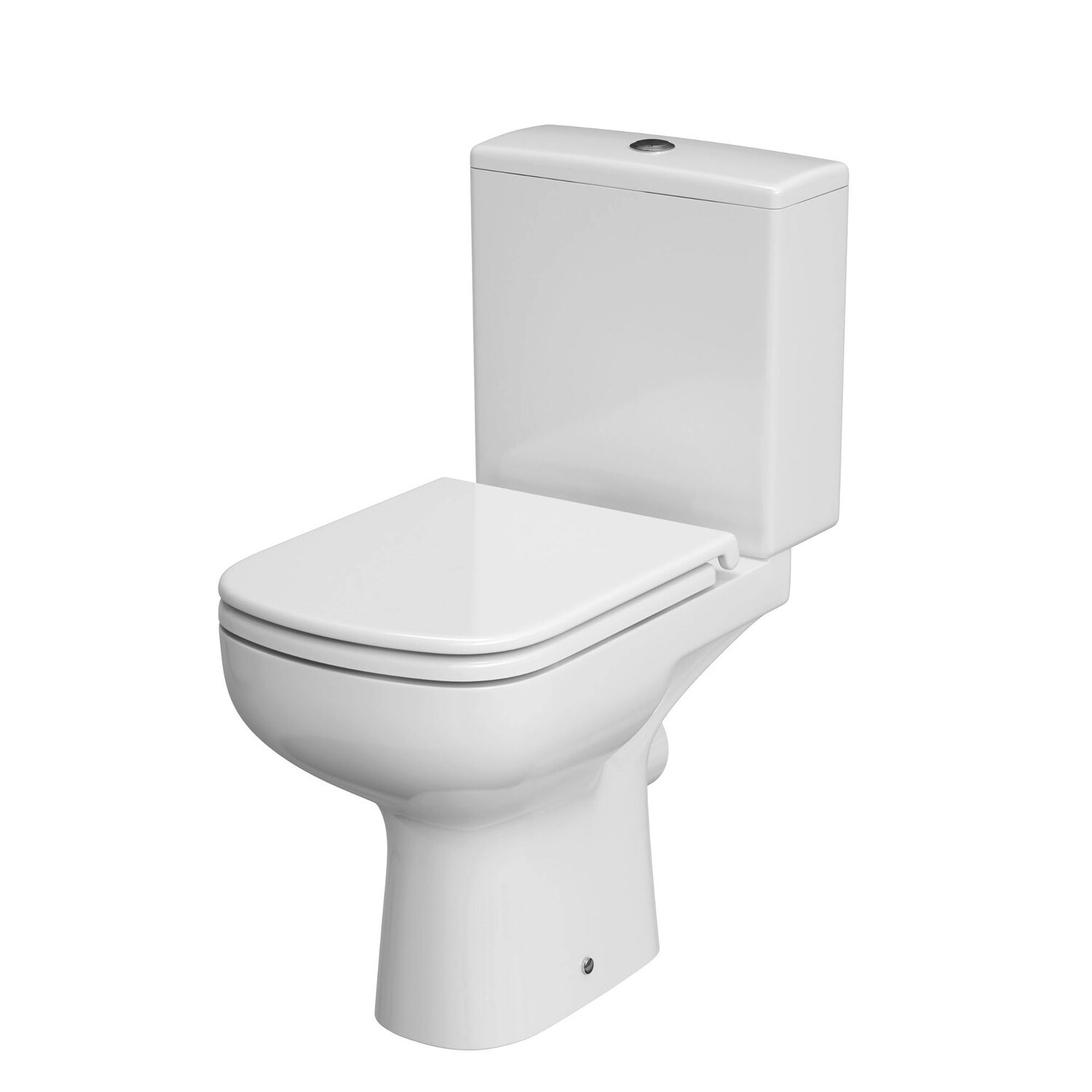 Cersanit kompakt wc colour cleanon z desk kupuj w obi - Wc c olour grijze ...