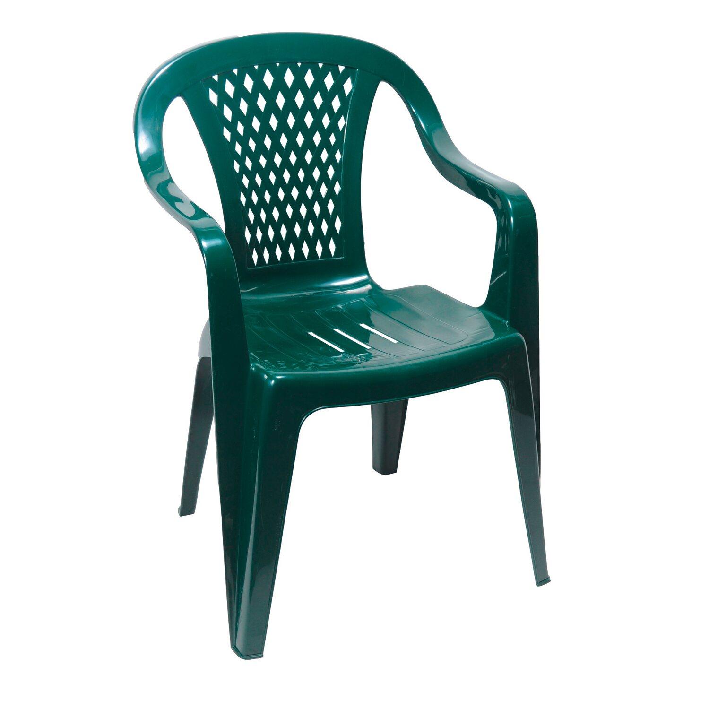 Krzesło Ogrodowe Diament Zieleń Leśna