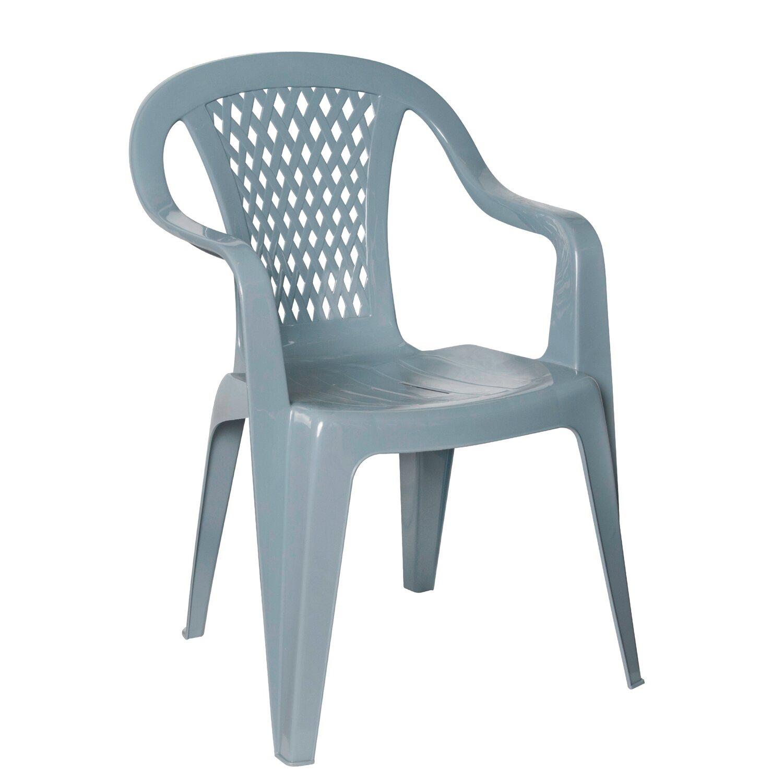 Krzesło Ogrodowe Diament Szare