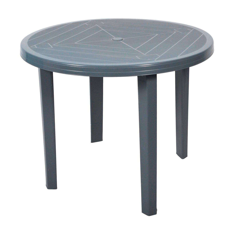 Stół Okrągły Opal Szary