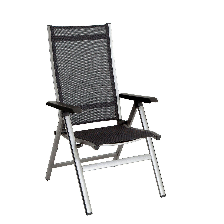 Mwh Fotel Elements 5 Pozycyjny Srebrny
