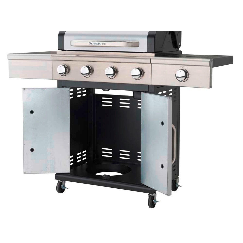 landmann grill gazowy triton pts 4 1 srebrny 15 0 kw kupuj w obi. Black Bedroom Furniture Sets. Home Design Ideas