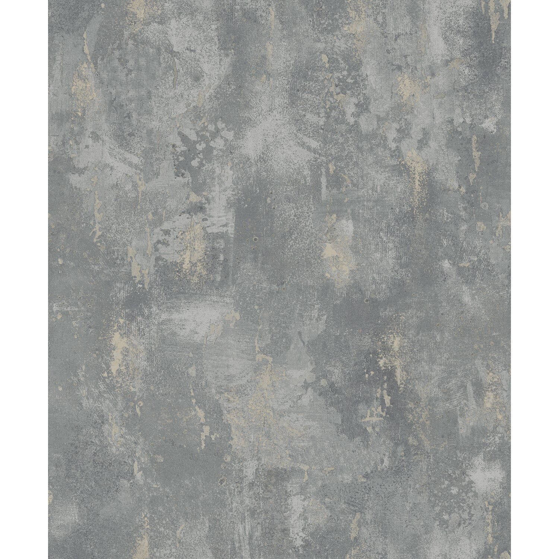 Tapeta Flizelinowa Concrete Brązowo Szara 53 Cm X 10 M