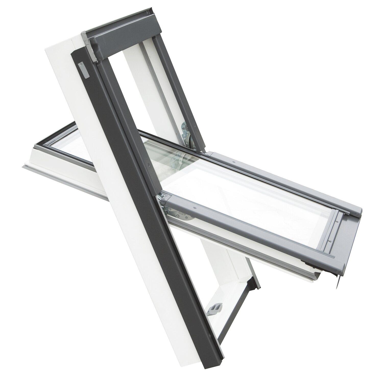 Wenta PRO PCV Okno Dachowe Biały PCV 78 cm x 118 cm
