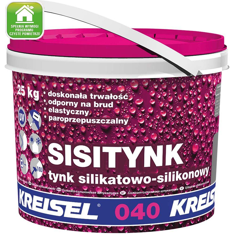 Kreisel Sisitynk Ts05 25 Tynk Silikatowo Silikonowy Kupuj W Obi
