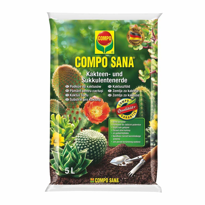 Podłoże Do Kaktusów Compo Sana 5l