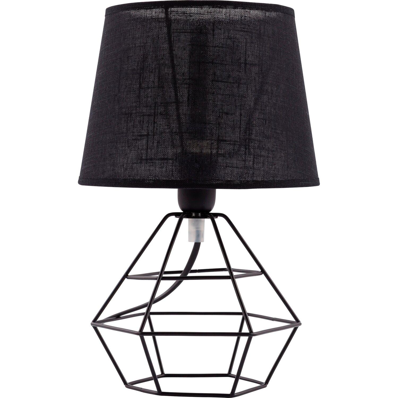 Tk Lighting Lampa Stolowa Diamond Czarna 1x60 W E27 Kupuj W Obi
