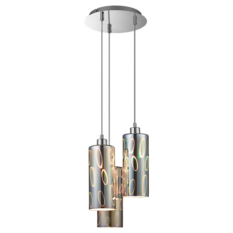Obi Lighting Lampa Sufitowa Serroni 3d 3x40 W E14