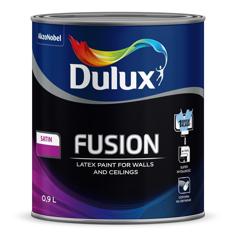 Dulux Fusion Baza Satin Biała 09 L