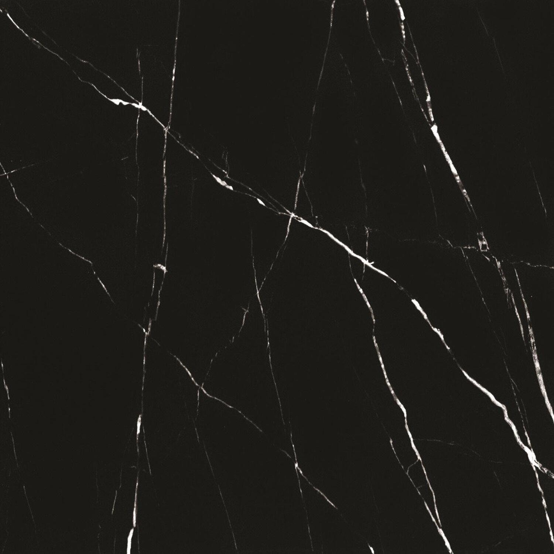 Ceramstic Gres Szkliwiony Polerowany Malivi Black 60 Cm X 60 Cm