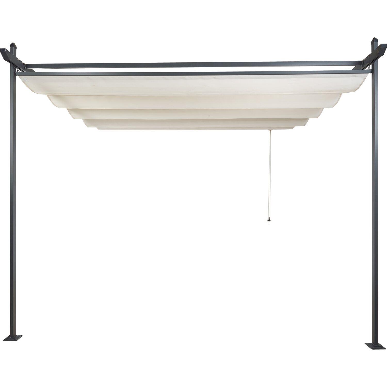 markiza plisowana 3 m x 3m be owa kupuj w obi. Black Bedroom Furniture Sets. Home Design Ideas