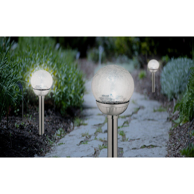Obi Lampa Solarna Ze Szklaną Kulą