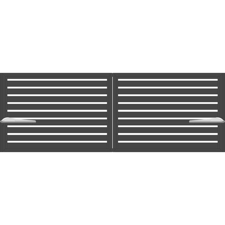 Brama Trento Z Napędem Antracyt 140x3982