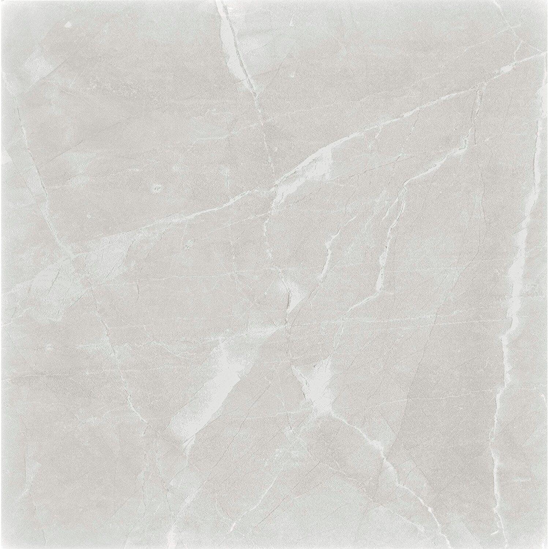 Gres Polerowany Szkliwiony Regal Blanco 60 Cm X 60 Cm Połysk