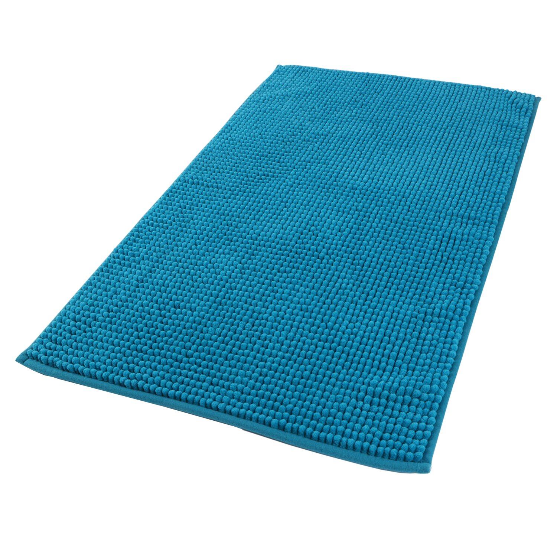 Sepio Dywanik łazienkowy Parma Niebieski Chenille 80x50 Cm