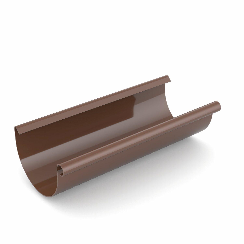 Bryza Rynna dachowa 75 mm  /2m/ PVC brąz