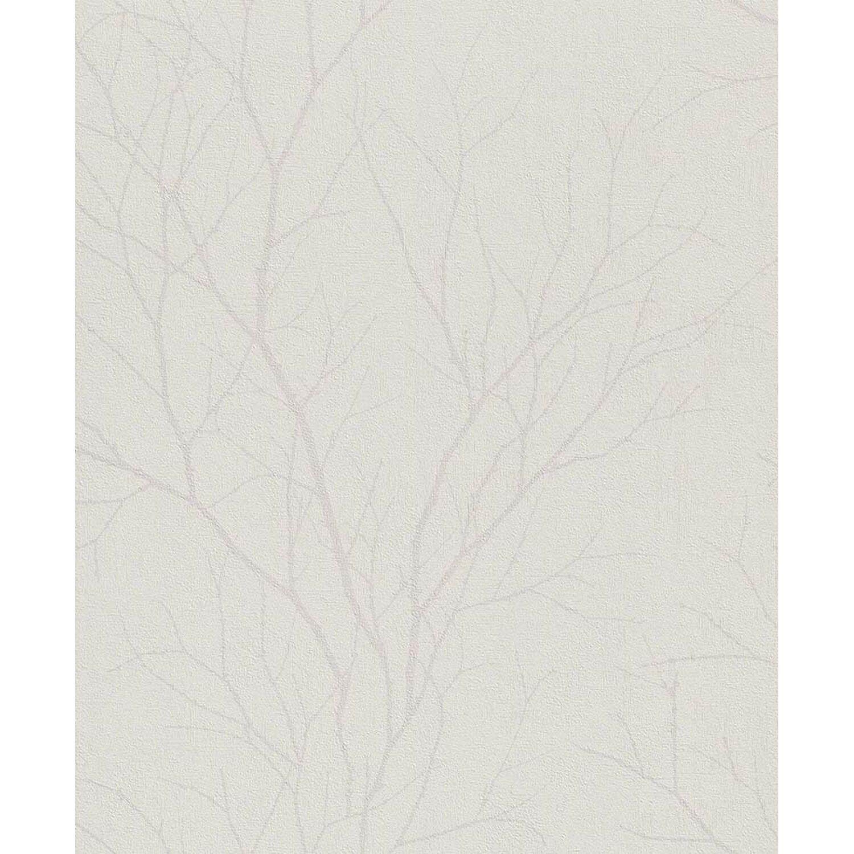 Rasch Tapeta Winylowa Gałęzie Ecru 53 Cm X 10 M