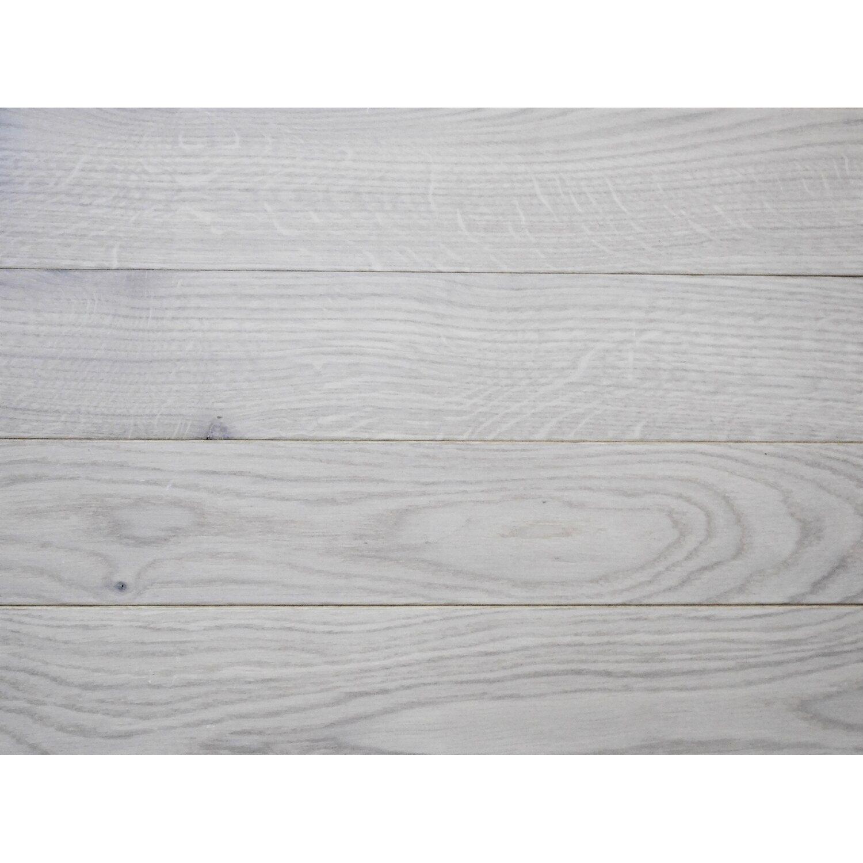 Zupełnie nowe Deska podłogowa dąb bielony lakierowany 15x90x300-1200 kupuj w OBI IW27
