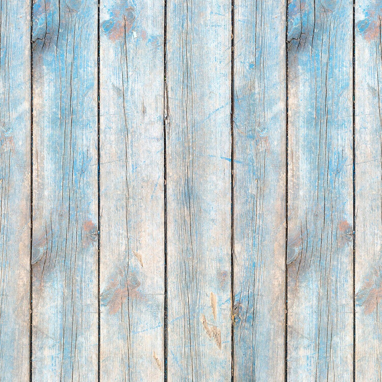 Alfa Cer Panel Szklany Niebieskie Deski 60 Cm X 60 Cm