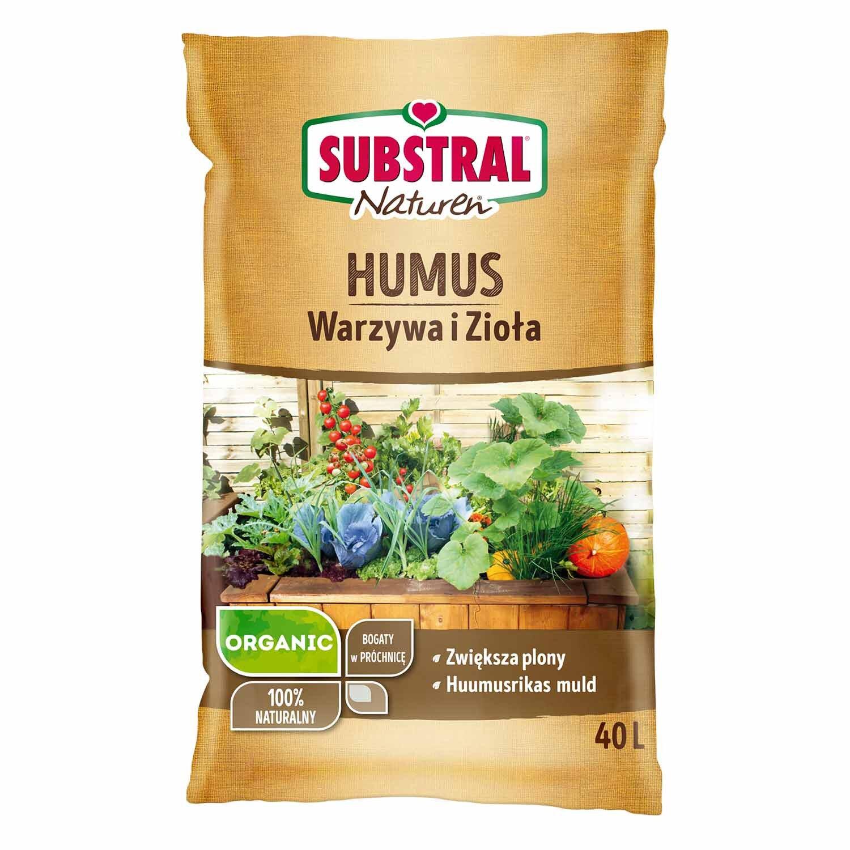 Podłoże Bio Humus Warzywa i Zioła 40 L
