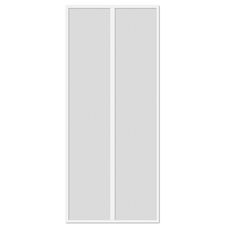 Gockowiak Moskitiera Drzwiowa Magnetyczna Biała 220 Cm X 100 Cm