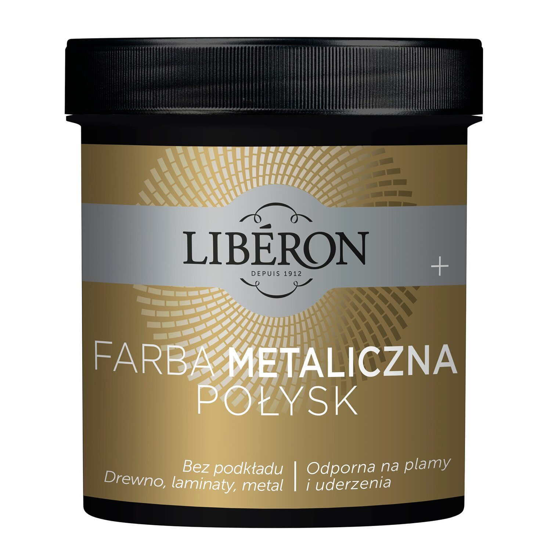 Liberon Farba Metaliczna Srebro Połysk 05 L