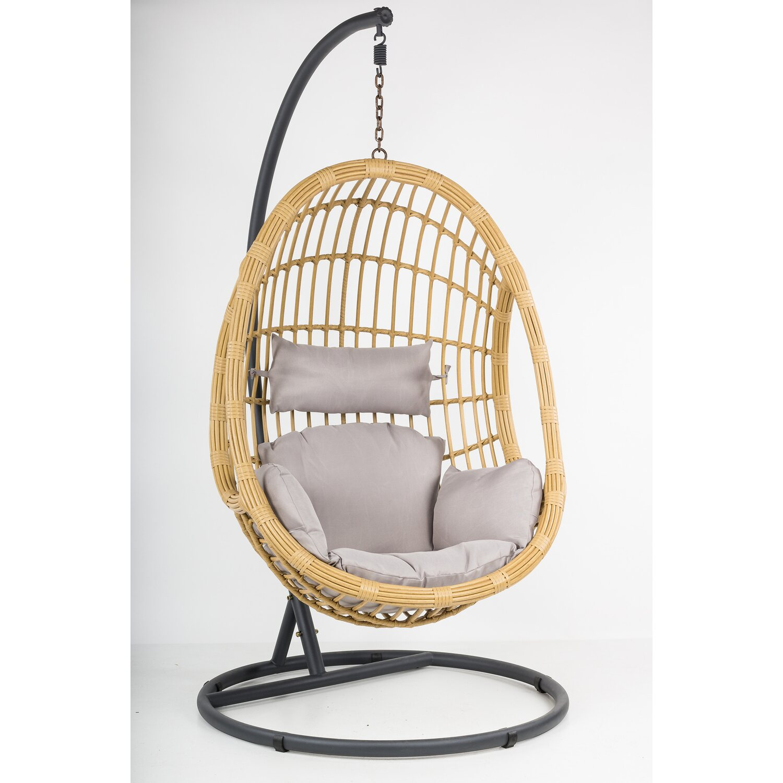 fotel wiszący bocianie gniazdo obi