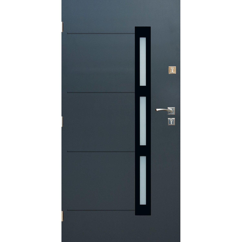 Sedro Drzwi Zewnętrzne Madryt Antracyt 90l