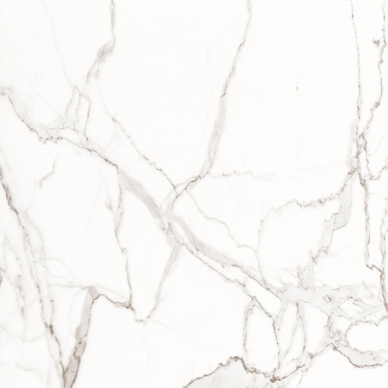 Egen Gres Polerowany Atlanta Biały 60 Cm X 60 Cm