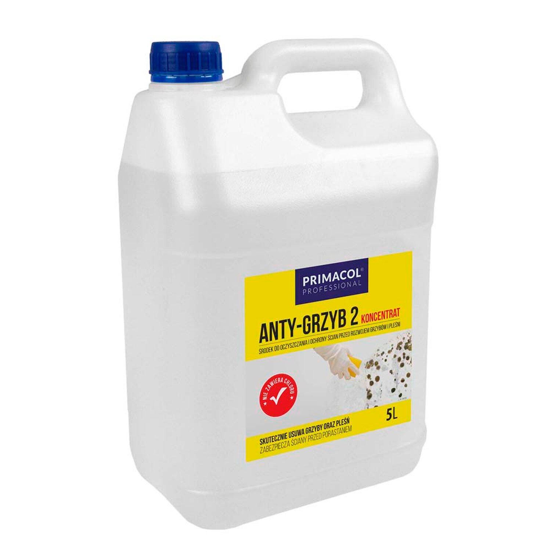 Primacol środek Anty Grzyb 2 Koncentrat 5 L