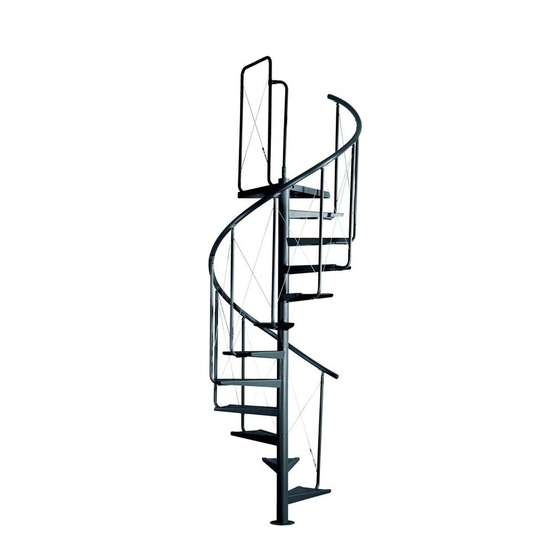 Atrium System Schody Modułowe Pinio Antracyt