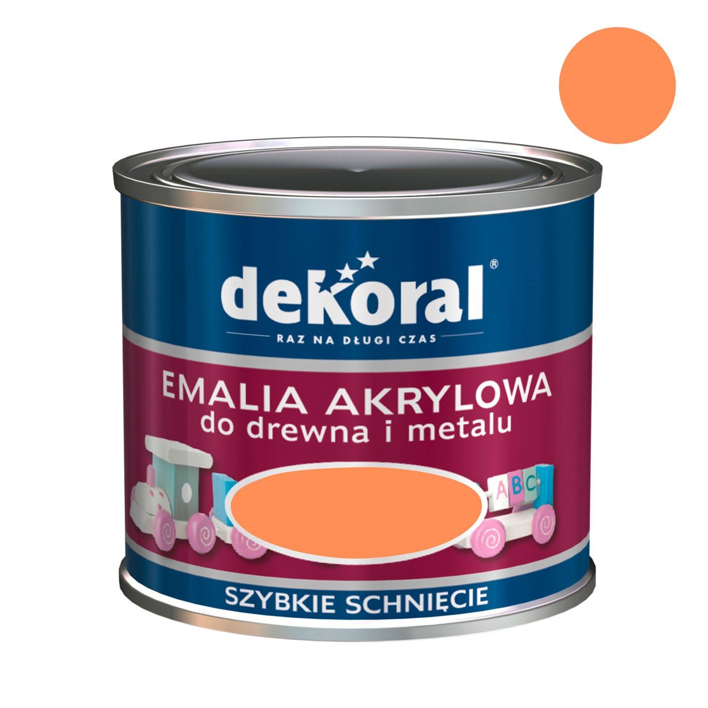 be72ed9db6dd4f Dekoral Emalia akrylowa Akrylux mango 500 ml kupuj w OBI