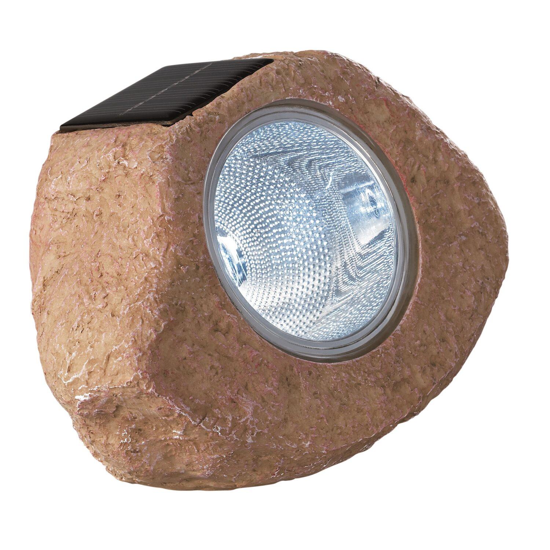 Obi Lampa Solarna Kamień Beż