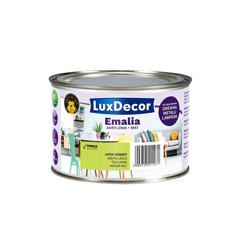 Luxdecor Emalia Akrylowa Do Drewna I Metalu Mat Listek Herbaty 400 Ml Kupuj W Obi