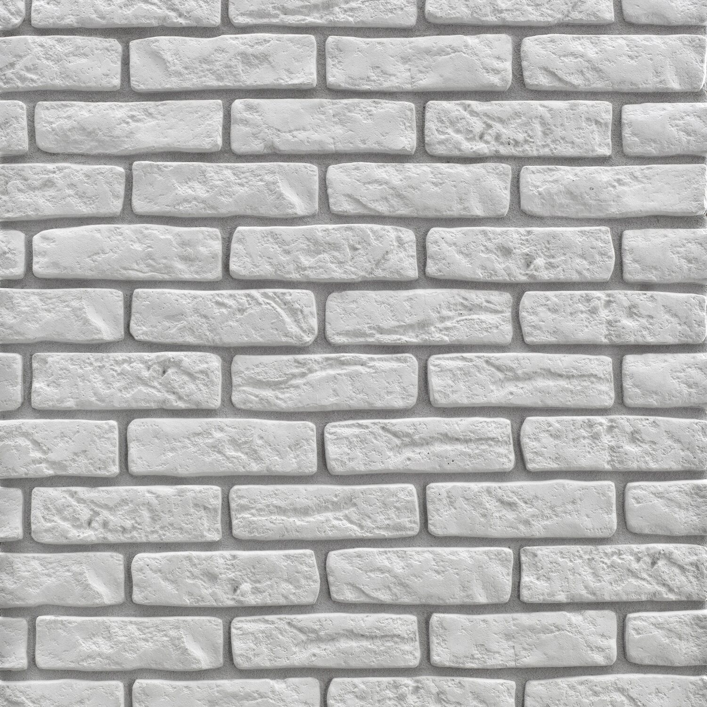 Stone Master Kamień Elewacyjny Loft Brick Biały