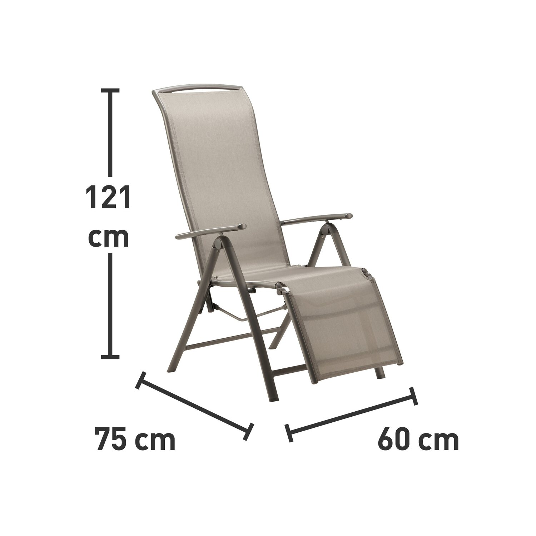 Obi Vigo Fotel Pozycyjny Z Podnóżkiem