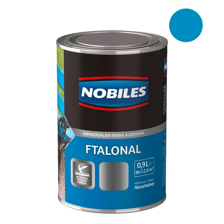 27c56be04a70eb Nobiles Emalia Ftalonal lazurowy 900 ml kupuj w OBI