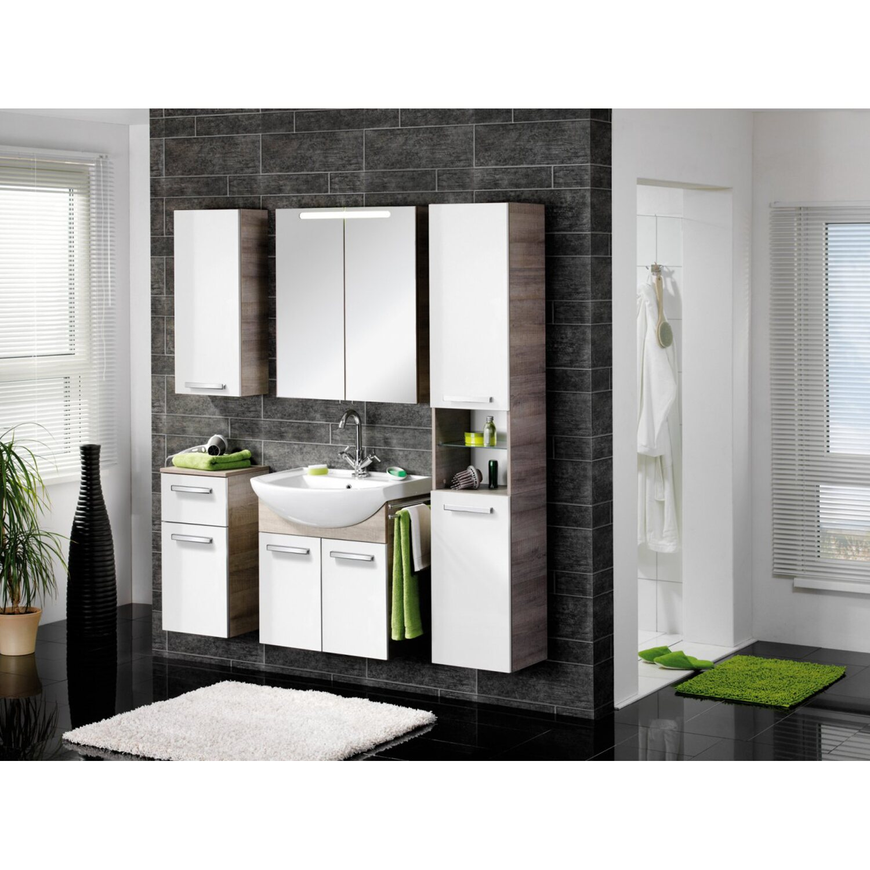fackelmann szafka pod umywalk a vero 63 bia a d b szary kupuj w obi. Black Bedroom Furniture Sets. Home Design Ideas