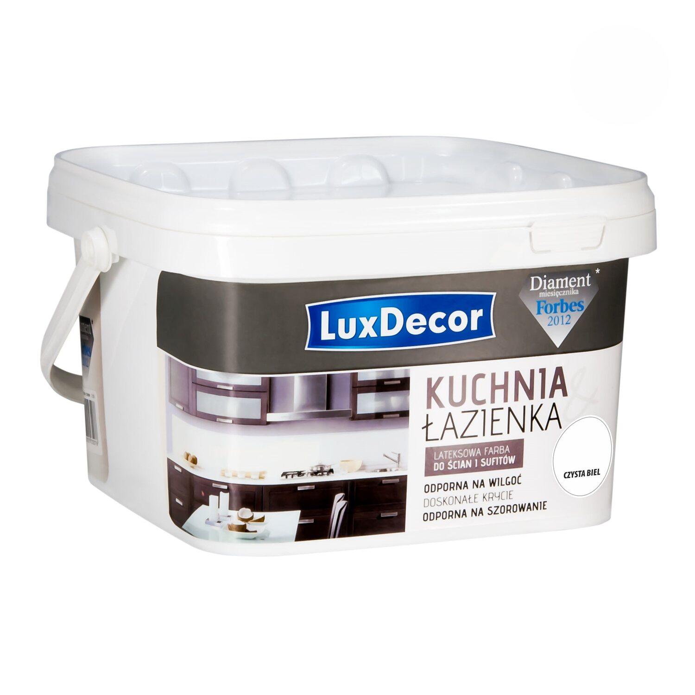 Luxdecor Farba Kuchnia I łazienka Czysta Biel 25 L