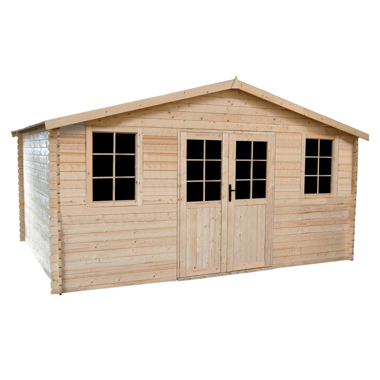 Werth Holz Domek Ogrodowy 495 Cm X 398 Cm X 260 Cm